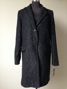 DKNY Reefer Coat Sz 10, $50  Original retail:  unknown but the sale price was $143.99 Our price:  $50