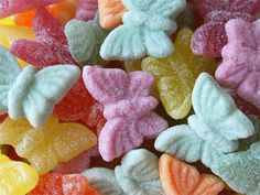 Colorful Candy Butterflies! ❥|Mz. Manerz: Being well dressed is a beautiful form of confidence, happiness & politeness