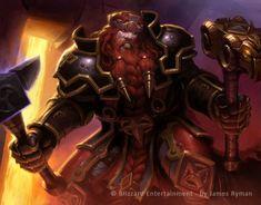 Warcraft TCG - Magni by *namesjames on deviantART