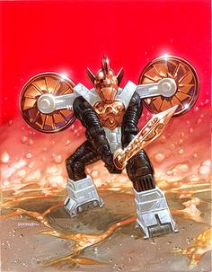 Acroyear. Micronauts. By Dave Dorman by Dave Dorman Artwork, via Flickr