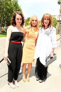 Ladies of Downton Abbey either before or after the Webcast on May 3, 2014 in LA