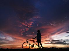 #dotsdesign #woodenbike  Bicycle  www.dotsobject.com Dots Design, Bicycle, Celestial, Sunset, Studio, Outdoor, Bicycle Kick, Sunsets, Study
