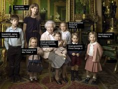 An annotated look at Annie Leibovitz's photo of Queen Elizabeth and her kin plus pictures of all the pomp and celebration surrounding the royal's milestone birthday Princess Elizabeth, Princess Charlotte, Queen Elizabeth Ii, Edinburgh, Annie Leibovitz Photos, Queen 90th Birthday, Happy Birthday, Prinz Philip, Viscount Severn