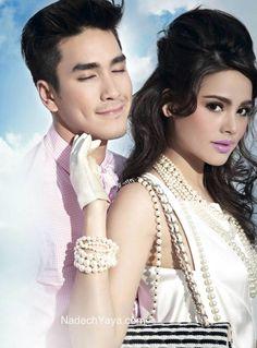 Yaya Urassaya & Nadech Kugimiya (IMAGE vol. 26 no. Mark Prin, Actor Model, Thailand, Photoshoot, Actresses, Actors, Couples, Womens Fashion, December 2013