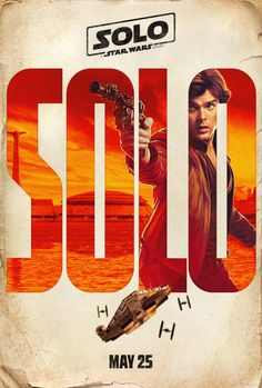 At long last, the Solo trailer is here. The Star Wars spin-off film from Ron Howard stars Alden Ehrenreich, Donald Glover, Woody Harrelson, & Emilia Clarke. Star Wars Film, Star Wars Han Solo, Star Wars Poster, Star Wars Art, Donald Glover, Chewbacca, Ron Howard, Clint Howard, Emilia Clarke