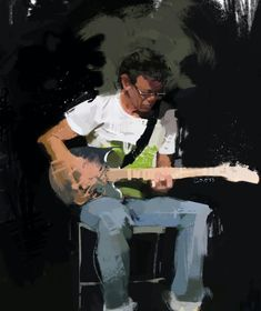 Lou Reed by Pedro Covo