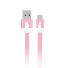 0.25M Android Smartphones Data Cable Charging Noodles USB Cable (Pink) #onlineshopping #lazadaph #lazadaphilippines #onlineshoppingphilippines