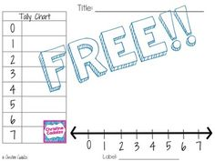 Free Line Plot Template  Plot Activities Tally Chart And Free Math