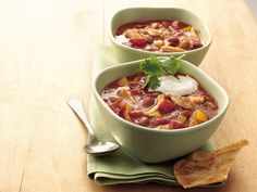 Slow Cooker Chicken Enchilada Chili    Kids didn't like it, but the adults sure did!   Grade: B+