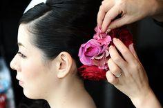 新郎新婦様からのメール 渋谷レガート様へ : 一会 ウエディングの花