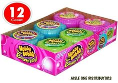Hubba Bubba® Bubble Tape Gum Assorted Variety Wholesale Resale 12 Count | eBay
