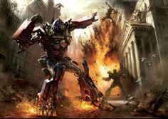 2D Concept Art: Transformer deathblow