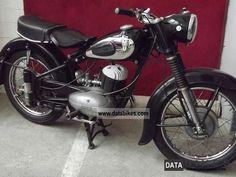 1954 DKW rt 250 Motorcycle Motorcycle photo