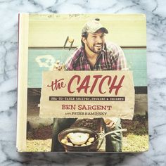 """The Catch by Ben Sargent - """"This new book from the host of Hook, Line & Dinner is all about giving us an excuse to have fish for dinner. From lobster bisque to tamarind-glazed sword fish, Ben Sargent shows us how it's done."""" : thekitchn  #new #cookbook"""