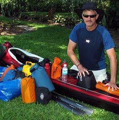 Preparations before Kayaking