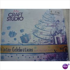 My Craft Studio CD Rom Winter Celebrations - Christmas Cardmaking/Scrapbook