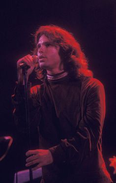 """The Fillmore East, New York City March 22 1968.......JIM MORRISON........GREAT PIC OF """"JIM"""" IN ACTION."""