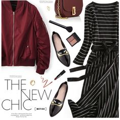 The New Chic by metisu-fashion on Polyvore featuring Kate Spade, Marc Jacobs, NARS Cosmetics, polyvoreeditorial, polyvoreset and metisu