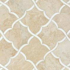 Talya Multi Finish Gaia Di D Marble Waterjet Mosaics 13 7/16x13 7/8 - From Country Floors of America