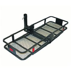 "Trailer Hitch Luggage Rack 60"" Truck Car Mounted Folding Cargo Carrier Basket Luggage Rack"