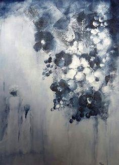 Solfrid M Skarseth  Akryl på lerret 50 × 70 Abstract, Painting, Abstract Artwork, Art