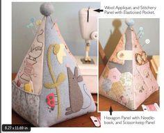 Mouse Pincushion - by The Birdhouse - Pincushion Pattern