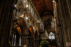 The beautiful inside of the St Mungo's Cathedral of Glasgow, Scotland Glasgow Cathedral, Glasgow Scotland, The St, Saints, Architecture, Beautiful, Arquitetura, Architecture Design