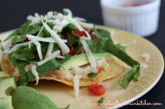 Potato Tostadas {#Foodelicious Party!} - Lydia's Flexitarian Kitchen