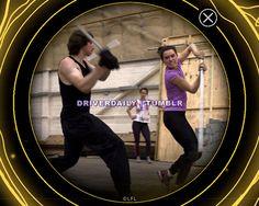 Adam Driver And Daisy Ridley Star Wars Sequel Trilogy, Rian Johnson, Downtown New York, Partner Dance, Rey Star Wars, Daisy Ridley, Adam Driver, Star Wars Humor, Last Jedi