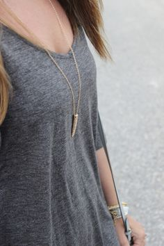 Summer date night style: casual knit old navy dress, gold pendant necklace, Target colorblock wedge heels, crossbody bag. Follow link to shop this look.