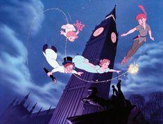 "Silver Buffalo Disney Peter Pan Flying ""Off to Neverland"" Wall Art, 13 x 19 inches Disney Amor, Disney Love, Disney Magic, Disney Stuff, Disney Song Lyrics, Disney Songs, Disney Quotes, Peter Pan Disney, Disney And Dreamworks"