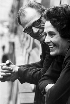 Inge Morath and Arthur Miller on the day of their wedding, Paris 1962 © Ian Berry