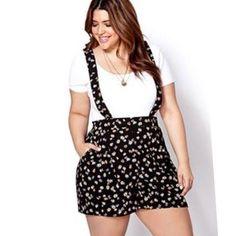 Plus size romper dress - http://pluslook.eu/dresses/plus-size-romper-dress.html. #dress #woman #plussize #dresses