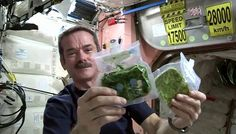 Col. Chris Hadfield: An astronaut's guide to eating in space