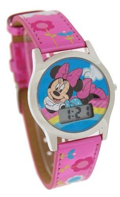 Disney Minnie Mouse LCD Digital Watch 41590 by Disney. $14.99. Brand new