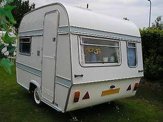Love this Thompson Mini Glen Caravan for sale on ebay right now lovely little van
