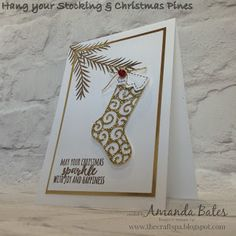 The Craft Spa - Stampin' Up! UK independent demonstrator : All That Glitters... Jems October Blog Hop for World Cardmaking Day...