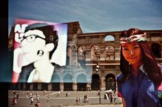 ▲▲▲Travel with me   Double exposure by Lca   Colosseum, Rome, Italy x Daji