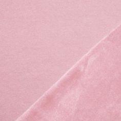 Alpenfleece Sweatshirt Stoff Lachsrosa