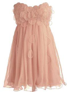 Peach Petal Frock | Minuet Dresses | RicketyRack.com