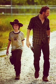 TWD Sherrif Andy and Opie? Lol