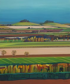 The Clumps at Spring - Anna Dillon.