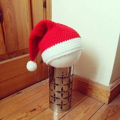 Santa hat for toddler