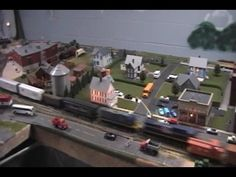 Pictures of Model Railroads and Layouts, come and visit http://www.modelleisenbahn-figuren.com for model trains scenery