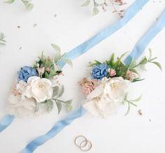 Blush blue boutonniere Blush pink Button hole Groomsman | Etsy Blue Wedding Flowers, Burgundy Flowers, Blush Flowers, Bridal Flowers, Flowers In Hair, Blue Boutonniere, Groomsmen Boutonniere, Flower Hair Pieces, Flower Hair Clips