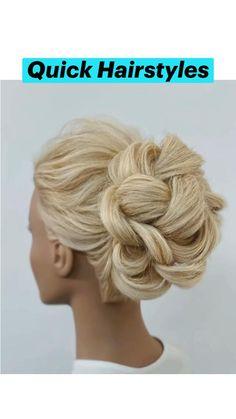 Easy Bun Hairstyles, Wedding Hairstyles Tutorial, Girl Hairstyles, Hairdo For Long Hair, Light Brown Hair, Hair Highlights, Prom Hair, Hair And Nails, Hair Makeup