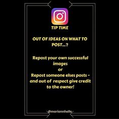 Tip time: There is nothing wrong with reposting your own pictures!  And if you give credit to the owner there is nothing wrong with reposting others either!   Creating images take time - so show respect by tagging the owner when you repost!  Want to learn more about building your business online? JOIN the Networking Success Tips FB-community!  @mariannhelle  - LINK IN BIO! ---------------------------------