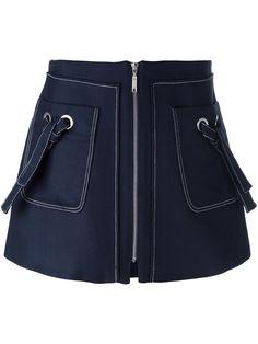 Kenzo юбка А-образного силуэта на молнии