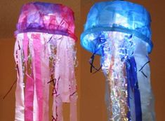 Jellyfish Light Ocean Crafts | AllFreeKidsCrafts.com