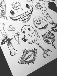 flash tattoo | Tumblr